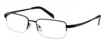 Harley Davidson HD 304 Eyeglasses Eyeglasses - SBLK: Satin Black