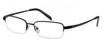 Harley Davidson HD 305 Eyeglasses Eyeglasses - SBLK: Satin Black