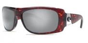 Costa Del Mar Bonita Sunglasses Tortoise Frame Sunglasses - Silver Mirror / 580G