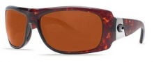 Costa Del Mar Bonita Sunglasses Tortoise Frame Sunglasses - Copper / 580P