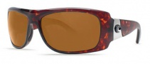 Costa Del Mar Bonita Sunglasses Tortoise Frame Sunglasses - Dark Amber / 400G