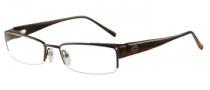 Harley Davidson HD 327 Eyeglasses Eyeglasses - SBRN: Satin Brown