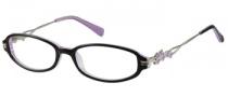 Harley Davidson HD 341 Eyeglasses Eyeglasses - BLK: Black On Lavender
