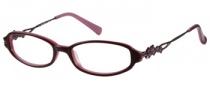 Harley Davidson HD 341 Eyeglasses Eyeglasses - BU: Burgundy On Pink