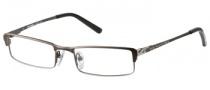 Harley Davidson HD 346 Eyeglasses Eyeglasses - SBRN: Satin Brown
