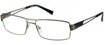 Harley Davidson HD 355 Eyeglasses Eyeglasses - GUN: Shiny Gunmetal
