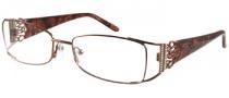 Harley Davidson HD 357 Eyeglasses Eyeglasses - RST: Rust