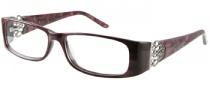 Harley Davidson HD 358 Eyeglasses Eyeglasses - BER: Berry Marble