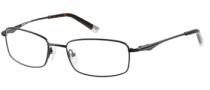 Harley Davidson HD 374 Eyeglasses Eyeglasses - SBLK: Satin Black / Tortoise