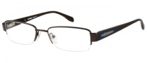Harley Davidson HD 380 Eyeglasses Eyeglasses - BRN: Shiny Dark Brown