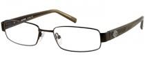 Harley Davidson HD 383 Eyeglasses Eyeglasses - SBRN: Satin Brown