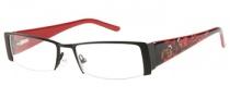 Harley Davidson HD 386 Eyeglasses Eyeglasses - BLK: Satin Black