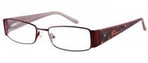Harley Davidson HD 393 Eyeglasses Eyeglasses - WN: Satin Wine
