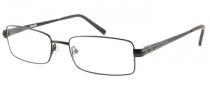Harley Davidson HD 400 Eyeglasses Eyeglasses - BLK: Satin Black