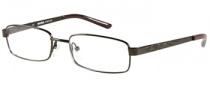 Harley Davidson HD 406 Eyeglasses Eyeglasses - BRN: Brown