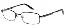 Harley Davidson HD 409 Eyeglasses Eyeglasses - BLK: Satin Black