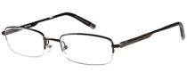 Harley Davidson HD 410 Eyeglasses Eyeglasses - BRN: Dark Brown