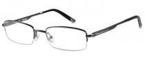 Harley Davidson HD 410 Eyeglasses Eyeglasses - GUN: Gunmetal