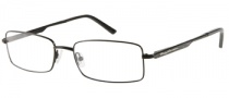 Harley Davidson HD 411 Eyeglasses Eyeglasses - BLK: Satin Black