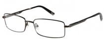 Harley Davidson HD 411 Eyeglasses Eyeglasses - BRN: Dark Brown