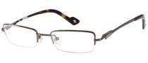 Harley Davidson HD 433 Eyeglasses Eyeglasses - BRN: Shiny Brown