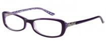 Harley Davidson HD 505 Eyeglasses Eyeglasses - EGG: Eggplant