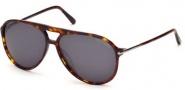 Tom Ford FT0254 Matteo Sunglasses Sunglasses - 54A Red Havana