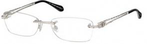 Roberto Cavalli RC0701 Eyeglasses Eyeglasses - 016 Shiny Palladium