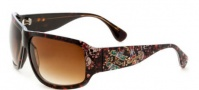 Ed Hardy Rock Sunglasses Sunglasses - Tortoise / Brown Gradient