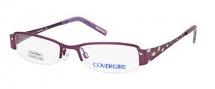 Cover Girl CG0395 Eyeglasses Eyeglasses - 082 Matte Violet