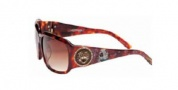 Ed Hardy EHS 053 Sunglasses Sunglasses - Demi Brown / Brown Gradient