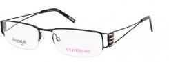 Cover Girl CG0423 Eyeglasses Eyeglasses - 002 Matte Black