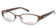 Cover Girl CG0424 Eyeglasses Eyeglasses - 046 Matte Light Brown