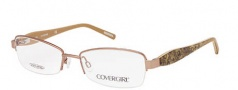 Cover Girl CG0500 Eyeglasses Eyeglasses - 008 Shiny Gunmetal