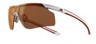 Adidas A186 Adizero Tempo S Sunglasses Sunglasses - White Red / LST Active