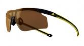 Adidas A186 Adizero Tempo S Sunglasses Sunglasses - Black Yellow / LST Contrast