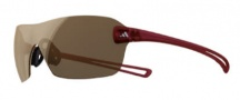 Adidas A406 Duramo L Sunglasses Sunglasses - Transparent Red / LST Contrast