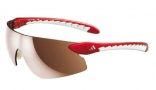 Adidas A155 T-Sight S Sunglasses Sunglasses - Red / LST Contrast Silver