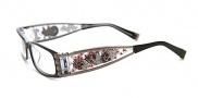 Ed Hardy EHO 712 Eyeglasses Eyeglasses - Black Crystal