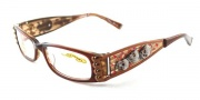 Ed Hardy EHO 712 Eyeglasses Eyeglasses - Hazel