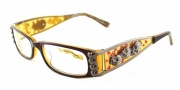 Ed Hardy EHO 712 Eyeglasses Eyeglasses - Sky Amber