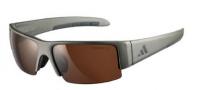 Adidas A401 Retego II Sunglasses Sunglasses - Matt Silver Grey / LST Contrast Light Silver