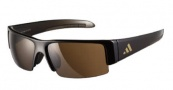 Adidas A401 Retego II Sunglasses Sunglasses - Brown Brown / LST Contrast