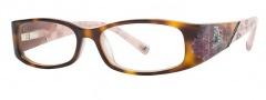 Ed Hardy EHO 717 Eyeglasses Eyeglasses - Brown Pink
