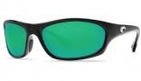 Costa Del Mar Maya Sunglasses Black Frame Sunglasses - Green Mirror / 400G