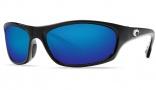 Costa Del Mar Maya Sunglasses Black Frame Sunglasses - Blue Mirror / 580G