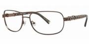 Ed Hardy EHO 722 Eyeglasses Eyeglasses - Brown