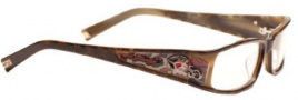 Ed Hardy EHO 723 Eyeglasses Eyeglasses - Tortoise