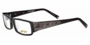 Ed Hardy EHO 724 Eyeglasses Eyeglasses - Black