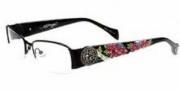 Ed Hardy EHO 726 Eyeglasses Eyeglasses - Shiny Black